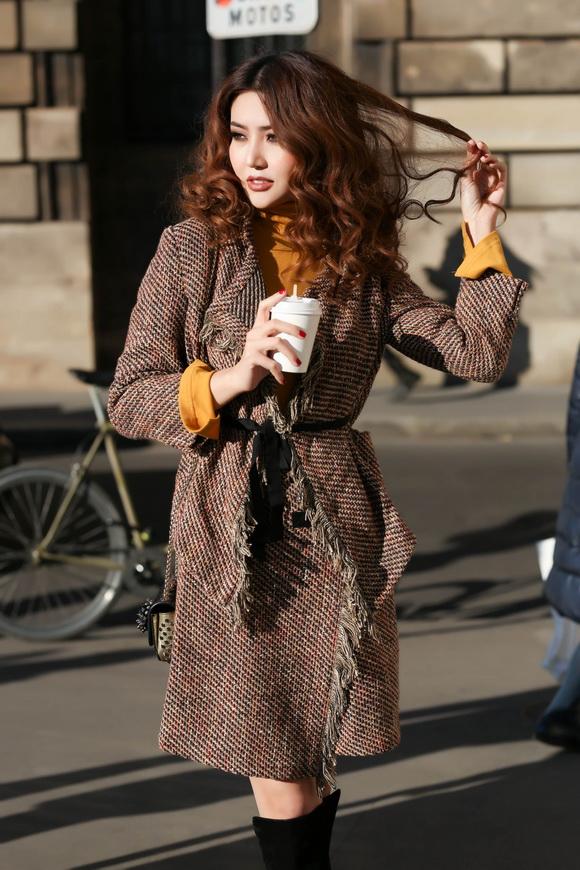 Ngọc Duyên khoe bộ ảnh thời trang cực chất tại Paris - Ảnh 5.