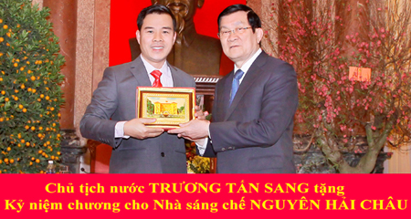 Doanh nhân & Hội nhập: Nguyễn Hải Châu - Nhà sáng chế của nông dân  (15h35, 1/10, VTV1) - Ảnh 1.