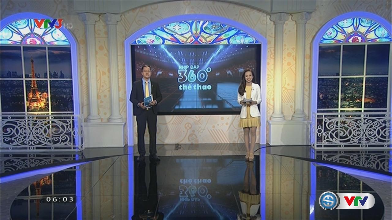 Nhịp đập 360 độ thể thao - 19/7/2016 - Video đã phát trên VTV-ONLINE |  VTV.VN