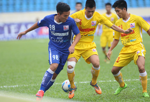 VIDEO, Thắng U21 Than Quảng Ninh 2-0, U21 Hà Nội T&T vào chung kết - Ảnh 1.