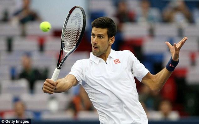 Djokovic vất vả vào bán kết Thượng Hải Masters 2016 - Ảnh 2.