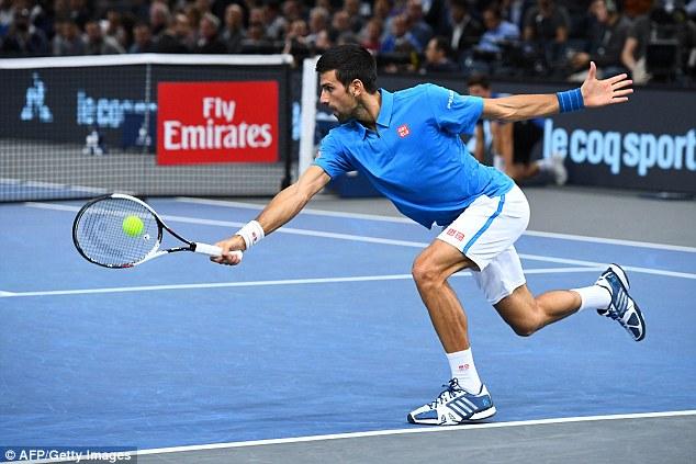 Tứ kết Paris Masters: Djokovic chính thức thành cựu vương - Ảnh 1.