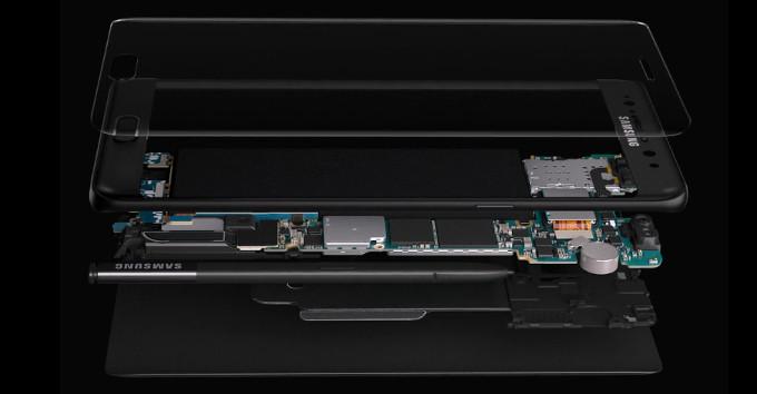 Galaxy Note 7 sở hữu cấu hình mạnh mẽ