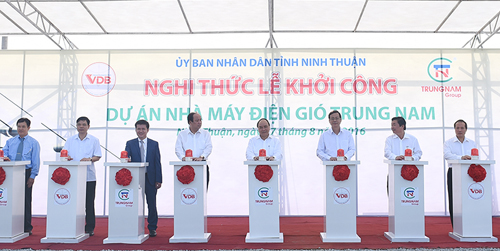 Khởi công dự án nghìn tỷ tại Ninh Thuận - Ảnh 1.