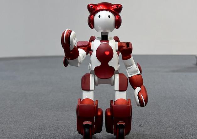 Robot chào đón du khách ở sân bay Nhật Bản - Ảnh 1.