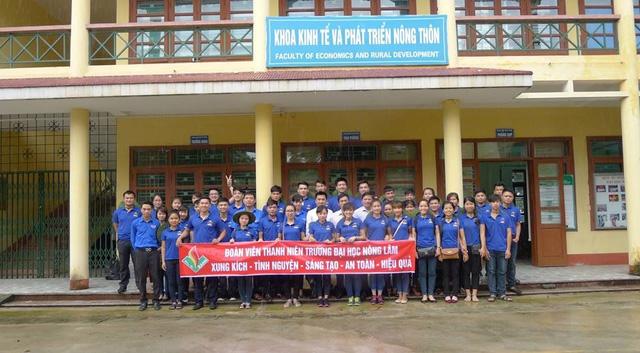 Mùa Hè xanh giàu ý nghĩa của SV tình nguyện ĐH Nông Lâm Thái Nguyên - Ảnh 1.