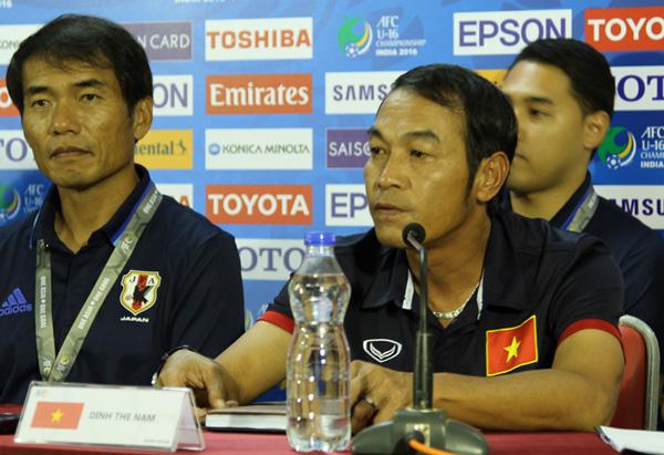 HLV Đinh Thế Nam: U16 Việt Nam sẽ chơi hết mình tại VCK U16 châu Á - Ảnh 1.