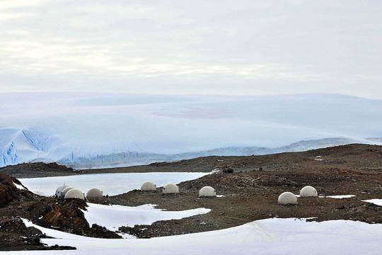 Ngỡ ngàng khách sạn siêu sang ở Nam Cực - Ảnh 1.
