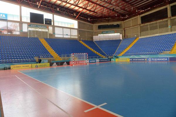 Cận cảnh Nhà thi đấu Bicentenario- nơi ĐT Việt Nam đấu trận quyết định với Italia - Ảnh 1.