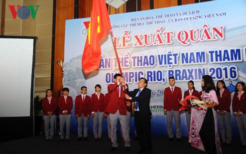 Lễ thượng cờ đoàn TTVN tại Olympic Rio tổ chức ngày 2/8 - Ảnh 1.