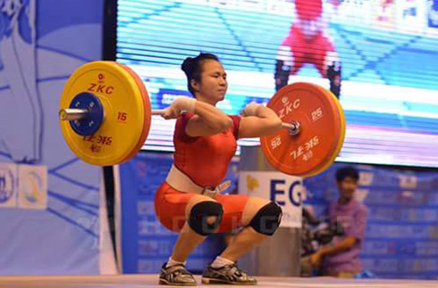 Lực sĩ Trung Quốc rút lui, cử tạ Việt Nam rộng cửa huy chương Olympic - Ảnh 1.