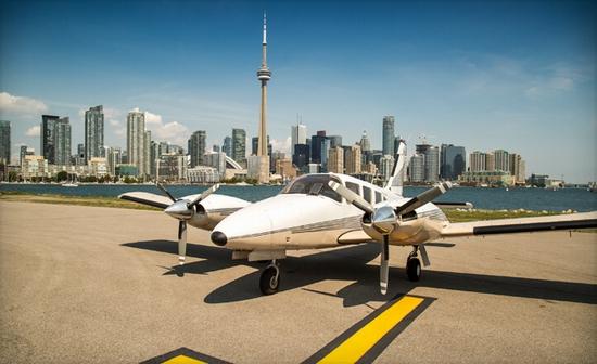 Canada mở đường bay siêu ngắn tới Niagara - Ảnh 1.