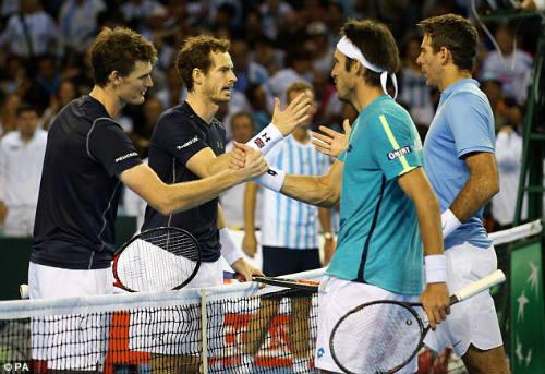 Anh em Murray giúp VQ Anh tạm thoát hiểm ở Davis Cup  - Ảnh 1.