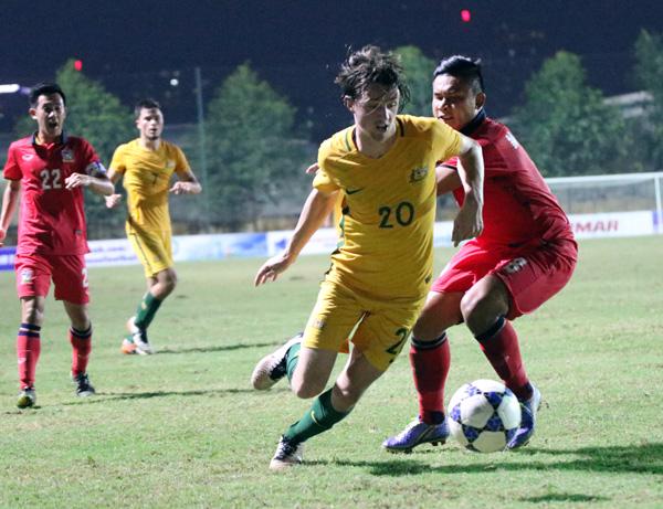Giải U19 Đông Nam Á 2016 (Bảng B): U19 Thái Lan chắc suất vào bán kết - Ảnh 1.