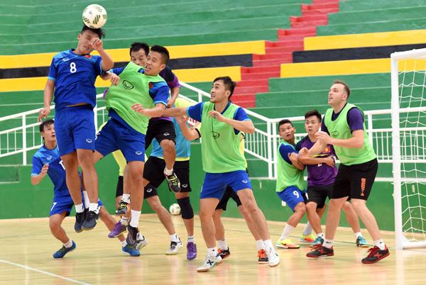 Lịch trực tiếp vòng 1/8 FIFA Futsal World Cup 2016: Việt Nam đụng độ Nga - Ảnh 1.
