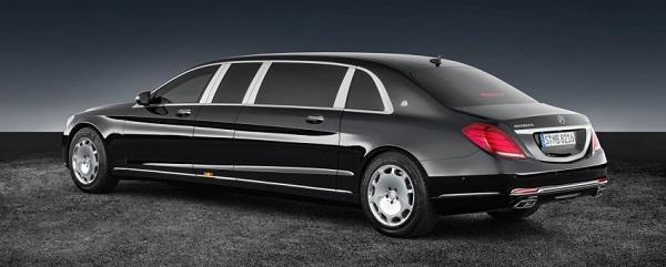 Siêu xe chống đạn Mercedes-Maybach S600 Pullman có giá 1,56 triệu USD - Ảnh 1.