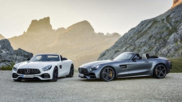 Mercedes-AMG GT Roadster 2017 ra mắt với 2 phiên bản mới - Ảnh 1.