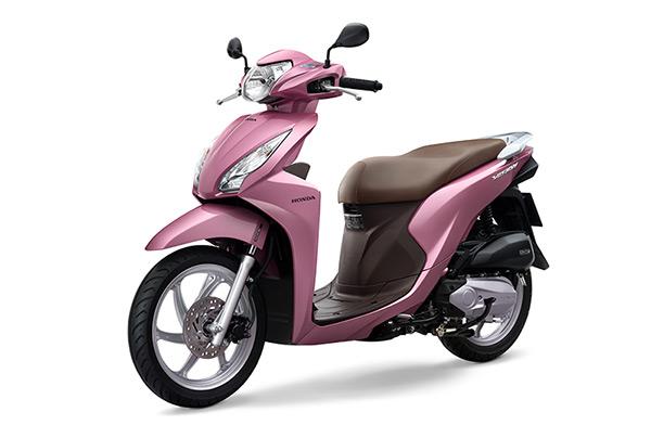Honda Vision có thêm màu hồng - Ảnh 1.