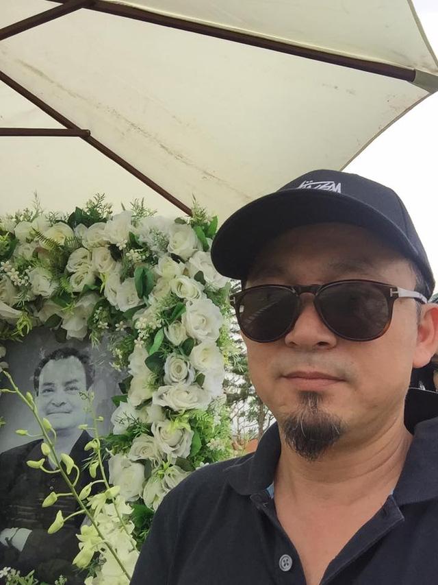 Thanh Lam ngậm ngùi hát bên mộ nhạc sĩ Thanh Tùng, Trần Lập - Ảnh 1.