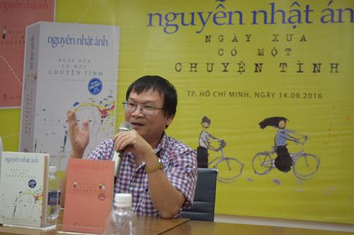 Nguyễn Nhật Ánh lần đầu kể chuyện tình - Ảnh 1.