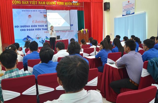 Quảng Ngãi: Bồi dưỡng kiến thức khởi nghiệp cho đoàn viên, thanh niên - Ảnh 1.