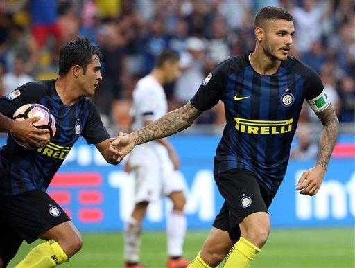 AC Milan thua đau, Inter giành thắng lợi nghẹt thở - Ảnh 2.