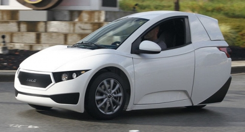 Chính thức ra mắt xe hơi ba bánh Electra Meccania Solo - Ảnh 1.