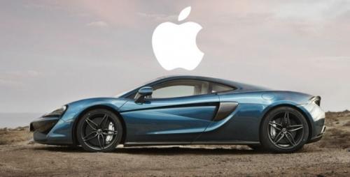 Apple muốn mua lại nhà sản xuất siêu ô tô F1 McLaren - Ảnh 1.