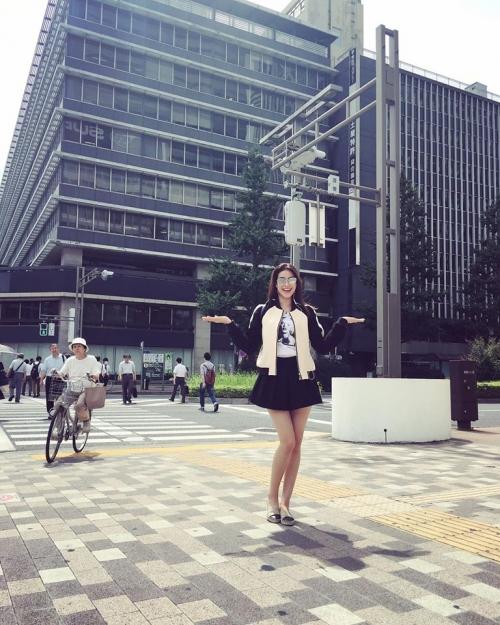 Phạm Hương khoe ảnh du hí tại Nhật Bản khiến fan mê mẩn - Ảnh 1.