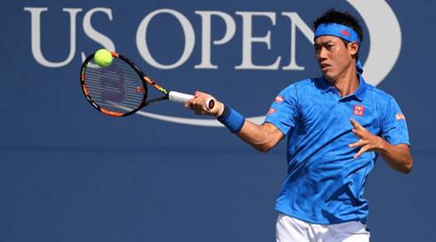 """US Open: Nishikori bất ngờ """"quật ngã"""" HCV Olympic Murray  - Ảnh 1."""