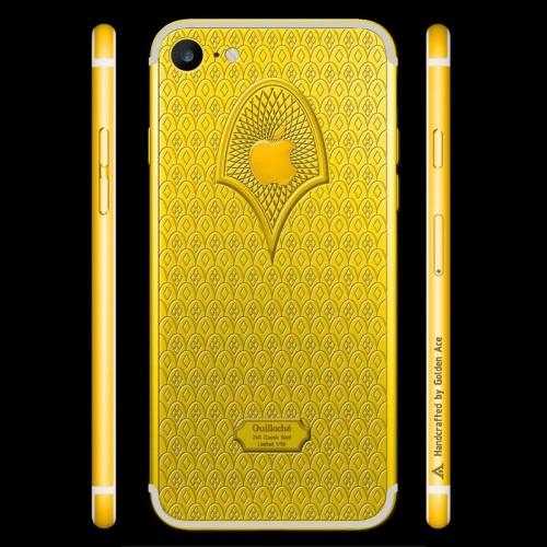 Ngắm nhìn bộ đôi iPhone 7 gây sốt qua họa tiết Guilloché - Ảnh 7.