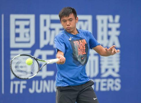 Lý Hoàng Nam dừng bước tại vòng 2 giải Việt Nam F4 Futures  - Ảnh 1.