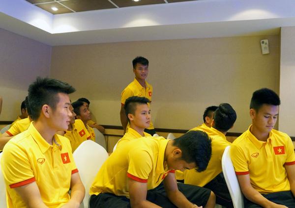 ĐT U19 Việt Nam quyết tâm giành kết quả tốt nhất trước U19 Iraq - Ảnh 2.