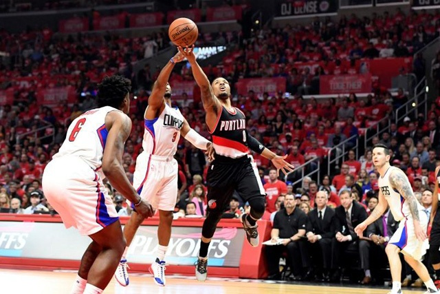 Los Angeles Clippers chấm dứt chuỗi trận thắng của Portland Trail Blazers - Ảnh 2.