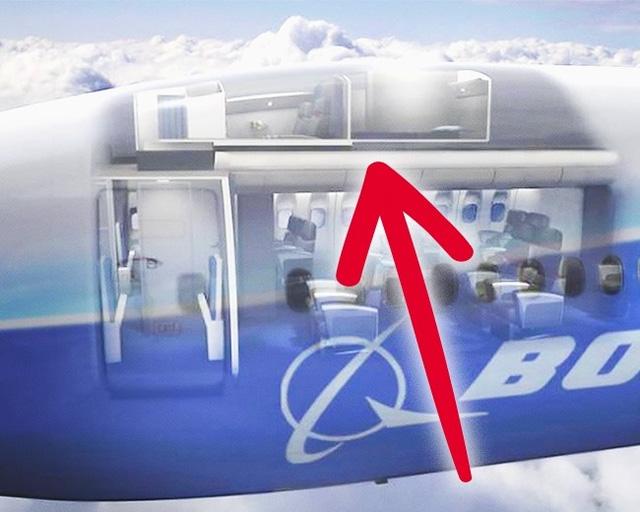 Căn phòng bí mật rất ít người biết trên máy bay - Ảnh 2.
