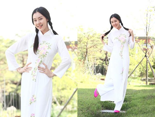 Khi sao quốc tế thể hiện tình yêu với tà áo dài Việt - Ảnh 13.