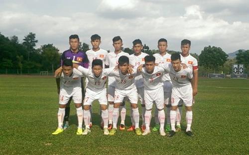 U16 Việt Nam thua đậm trước ĐKVĐ U16 châu Á CHDCND Triều Tiên  - Ảnh 1.