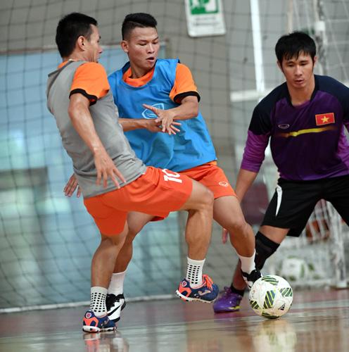 ĐT Futsal Việt Nam tổng duyệt, sẵn sàng ra quân gặp Guatemala  - Ảnh 2.