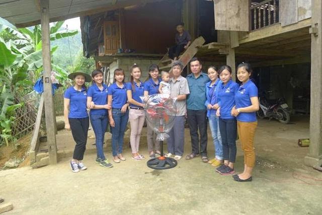 Mùa Hè xanh giàu ý nghĩa của SV tình nguyện ĐH Nông Lâm Thái Nguyên - Ảnh 2.