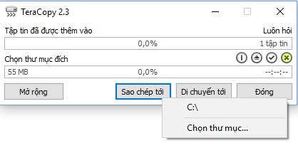 Thủ thuật tăng tốc độ sao chép/di chuyển dữ liệu trên Windows - Ảnh 2.