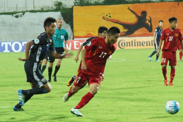 VCK U16 châu Á 2016: U16 Việt Nam thua U16 Nhật Bản 0-7 - Ảnh 2.