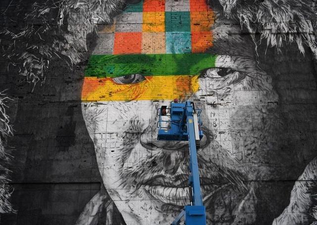 Nghệ sĩ lập kỷ lục vẽ tranh tường ăn mừng thế vận hội Olympic - Ảnh 2.