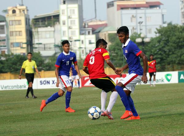 U19 Malaysia thua sốc Timor Leste, U19 Việt Nam chưa thể đi tiếp - Ảnh 1.