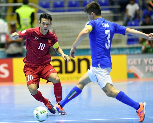 ĐT Futsal Việt Nam vào vòng 1/8 World Cup là thành quả từ sự lao động cật lực - Ảnh 1.