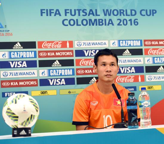 Phát biểu trước trận đấu vòng 1/8 Futsal World Cup 2016, ĐT futsal Việt Nam - ĐT futsal Nga - Ảnh 2.