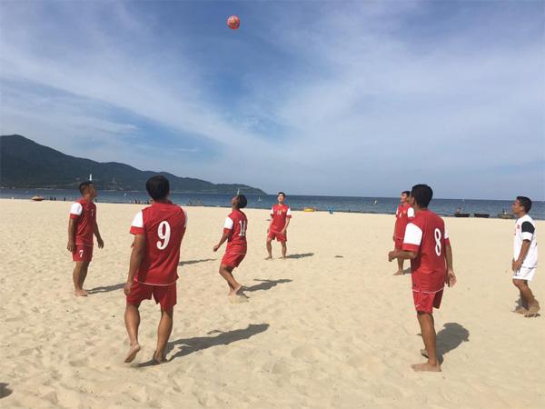 ĐT bóng đá bãi biển Việt Nam sẵn sàng cho ABG 5 - Ảnh 1.