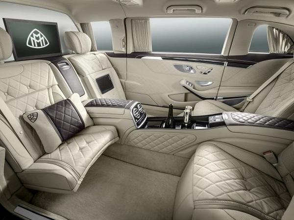 Siêu xe chống đạn Mercedes-Maybach S600 Pullman có giá 1,56 triệu USD - Ảnh 2.