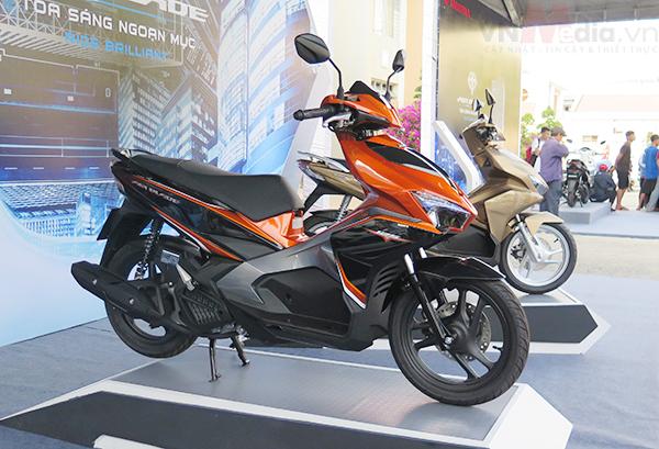 5 xe máy bán chạy nhất Việt Nam tháng 8/2016 - Ảnh 2.