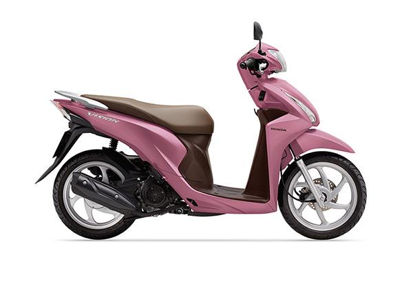 Honda Vision có thêm màu hồng - Ảnh 2.