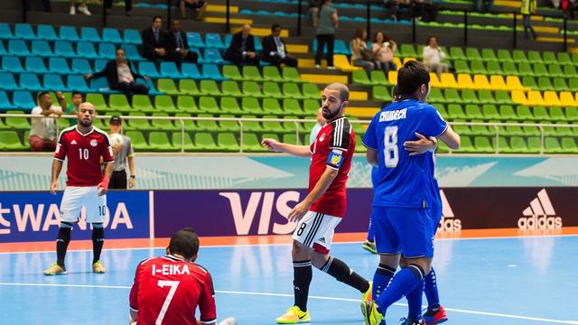 Thắng Ai Cập, Thái Lan chắc suất vào vòng knock-out World Cup futsal 2016 - Ảnh 2.